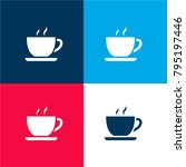 hot chocolate cup four color...