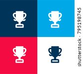 sports cup four color material... | Shutterstock .eps vector #795198745