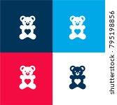teddy bear four color material...