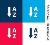 alphabetical order four color...