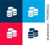 three databases symbol four...
