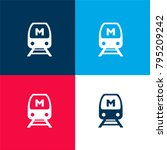 seoul metro logo four color...