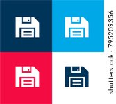 floppy disk four color material ...   Shutterstock .eps vector #795209356