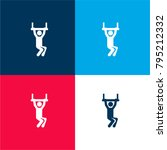 trapeze four color material and ...   Shutterstock .eps vector #795212332