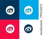 sina social logo of an eye four ...