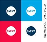 eyeem logo four color material...