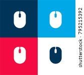 mouse four color material and...