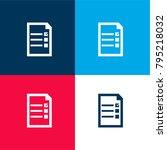 election checklist symbol four... | Shutterstock .eps vector #795218032