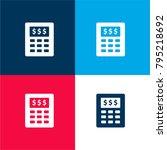 budget calculator four color...
