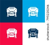 plotter four color material and ...