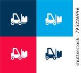 delivery transportation machine ... | Shutterstock .eps vector #795226996