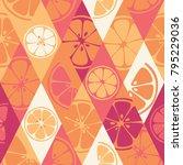 geometric seamless pattern set...   Shutterstock .eps vector #795229036