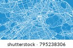 urban vector city map of... | Shutterstock .eps vector #795238306