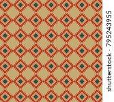geometric pattern vector | Shutterstock .eps vector #795243955