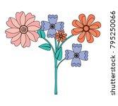beauty floral arrangement...   Shutterstock .eps vector #795250066