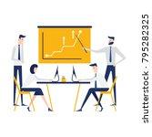 vector illustration. training... | Shutterstock .eps vector #795282325