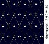 geometric simple pattern.... | Shutterstock .eps vector #795299155