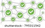 vector illustration of tick in...   Shutterstock .eps vector #795311542