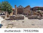 nessebar  bulgaria   30 july... | Shutterstock . vector #795323986