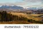 an idyllic car break in the... | Shutterstock . vector #795332122