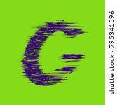 violet green letter g  creative ...