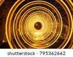 Steel Wool Spinning Circles...