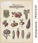 old fashioned greengrocery  ... | Shutterstock .eps vector #79537219