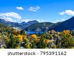 lacar lake  san martin de los... | Shutterstock . vector #795391162