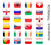 set of 24 ui icons flags for...