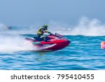 jet ski competition in  thai... | Shutterstock . vector #795410455