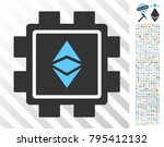 ethereum classic mining pool... | Shutterstock .eps vector #795412132