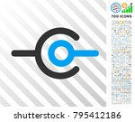 wire connection pictograph with ... | Shutterstock .eps vector #795412186