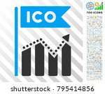 ico chart pictograph with 7... | Shutterstock .eps vector #795414856