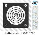 asic miner hardware pictograph... | Shutterstock .eps vector #795418282