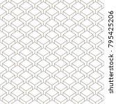 linear seamless geometric... | Shutterstock .eps vector #795425206