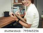 business objects of engineers... | Shutterstock . vector #795465256
