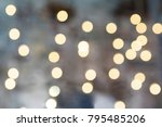 gray blurred background with... | Shutterstock . vector #795485206