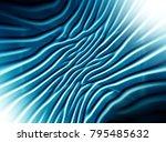 abstract  blue technology ... | Shutterstock . vector #795485632