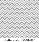zigzag lines seamless pattern.... | Shutterstock .eps vector #795489802