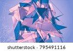 violet beautiful illustration... | Shutterstock . vector #795491116