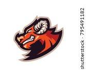 centaur e sports logo | Shutterstock .eps vector #795491182