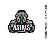 osiris e sports logo | Shutterstock .eps vector #795491185