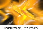abstract gold background.... | Shutterstock . vector #795496192