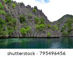 inaccessible tales of volcanic... | Shutterstock . vector #795496456