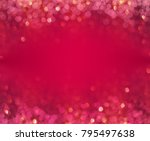 valentine's day background ... | Shutterstock . vector #795497638