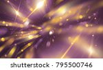 abstract multicolored bokeh... | Shutterstock . vector #795500746