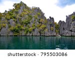 inaccessible tales of volcanic... | Shutterstock . vector #795503086