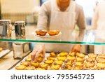 traditional portuguese dessert  ...   Shutterstock . vector #795545725
