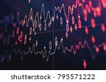 creative forex background.... | Shutterstock . vector #795571222