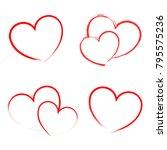 heart draw handmade icon symbol ...